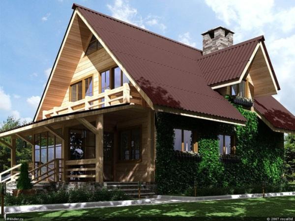 Строим скатную крышу дома своими руками
