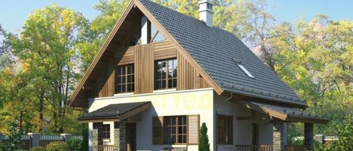 Конструкция мансардной крыши одноэтажного дома