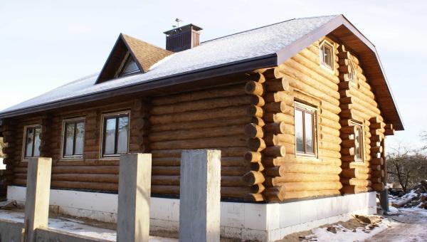 Конструкция дома с мансардной (ломаной) крышей