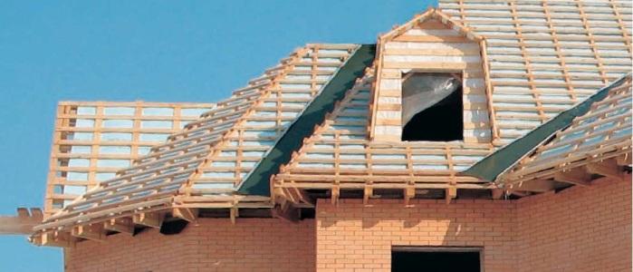 Устройство и шаг монтажа обрешетки на крышу под профнастил