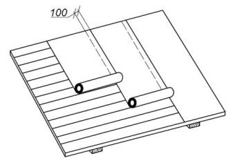 Как правильно стелить на крышу рубероид