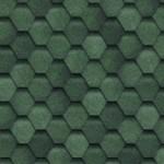 Мягкая кровля Шинглас Финская цвет Зеленый