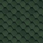 Мягкая кровля Шинглас Самба цвет Зеленый