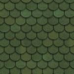 Мягкая кровля Шинглас Танго цвет Зеленый