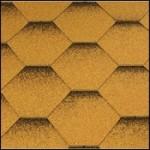 Гибкая черепица Katepal Katrilli цвет золотой песок