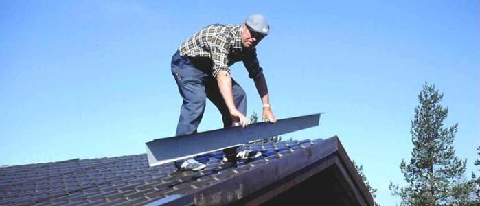 Как покрыть крышу металлочерепицей своими руками