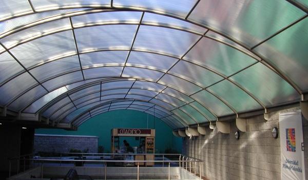Строительство арочной крыши