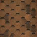 Гибкая черепица Tilercat Прима цвет коричневый