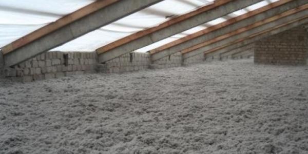 Утепление холодной крыши