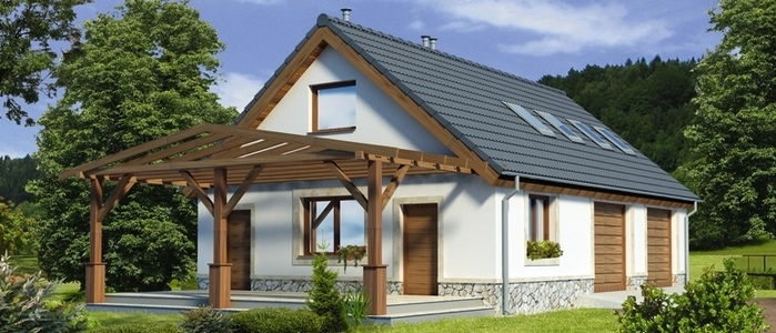Расчет двухскатной крыши дома