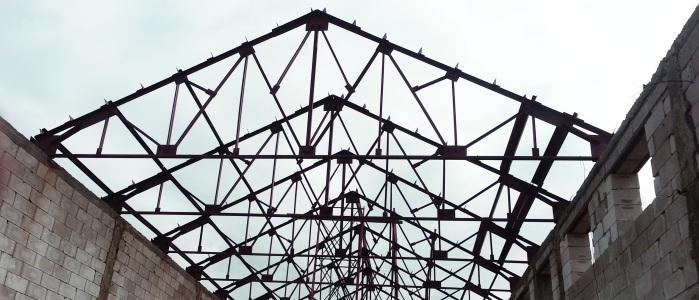 Устройство и монтаж металлической фермы