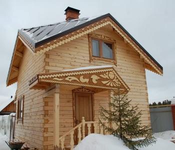 Фото дома с крышей Судейкина