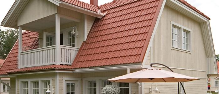 Устройство и возведение двухскатной крыши