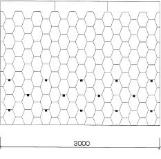 "Форма ""Сота"". Угол наклона крыши 30-40 градусов."
